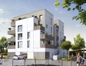 appartements T2 T3 collectif uniparc rennes beauregard