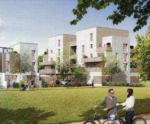 appartements neufs Uniparc vue parc