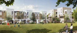 Maisons appartement UNIPARC vue parc Rennes Beauregard